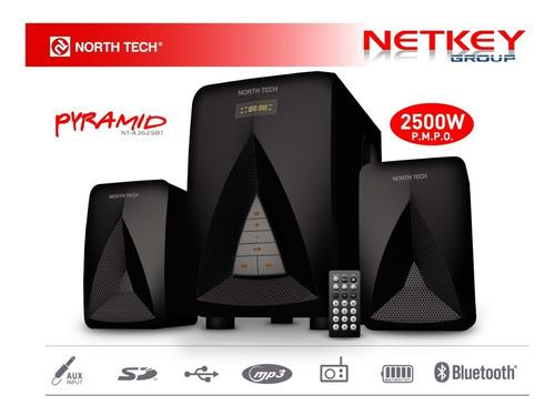 Equipo De Audio 2.1 North Tech