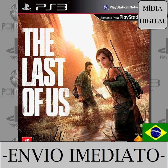 The Last Of Us Ps3 Psn Mídia Digital Dublado Envio Imediato