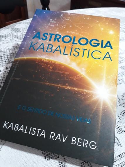 Livro Astrologia Kabalística Rav.berg Cabala Melhor Preço!