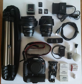 Kit Canon T5i Efs 10-22 + 17-85 Mm + Extras