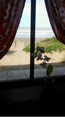 Casa Frente Al Mar,sobre La Playa. ¡única!