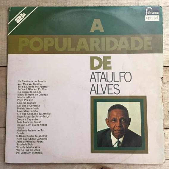 Lp Ataulfo Alves A Popularidade 1975