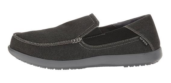 Zapatillas Crocs Nautico Santa Cruz 2 Luxe Black Black 0141