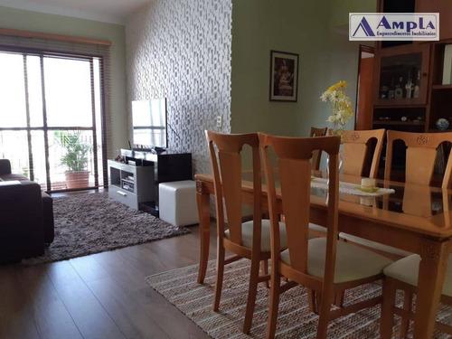Apartamento Com 3 Dormitórios À Venda, 83 M² Por R$ 620.000,00 - Tatuapé - São Paulo/sp - Ap1155