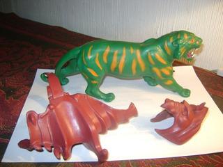 Muñeco Battle Cat 1 Serie He-man Motu Mattel Decada 1980