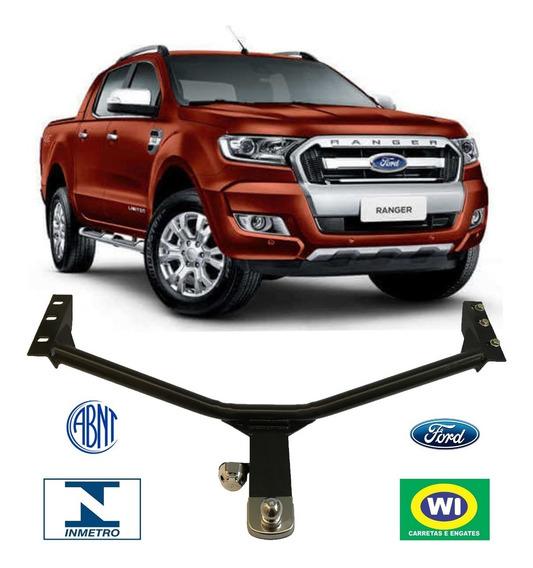 Engate Reboque Ford Ranger 2013 A 2018 Wi Engates 1000 Kg