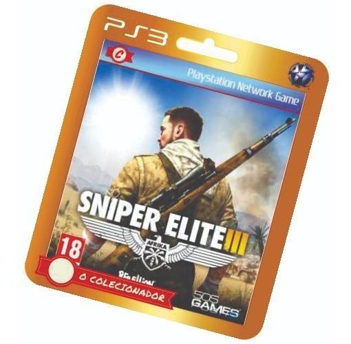 Sniper Elite Iii Em Oferta!