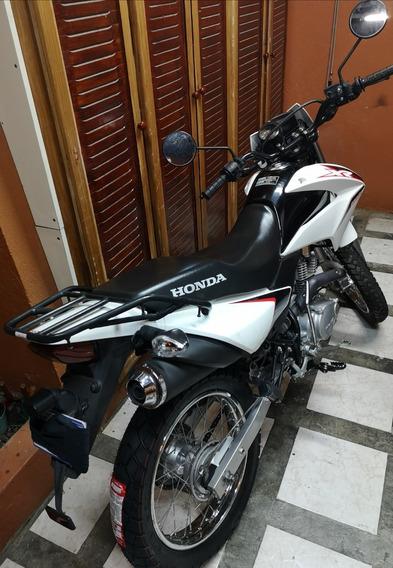 Honda Xr 150l 2017, 13000 Km, Maleta, Moto Al Día Como Nueva