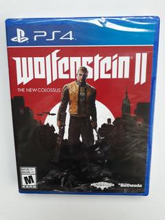 Wolfenstein 2 Juego Ps4 Nuevo Y Sellado En Español.