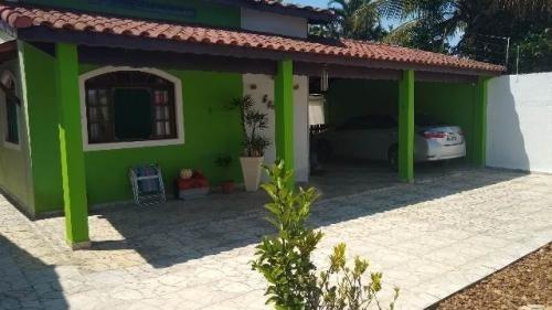 Bonita Casa Com Edícula E Piscina No Cibratel Em Itanhaém