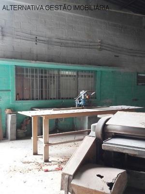 Galpao Comercial Em São Paulo - Sp, Jaguaré - Glv0039