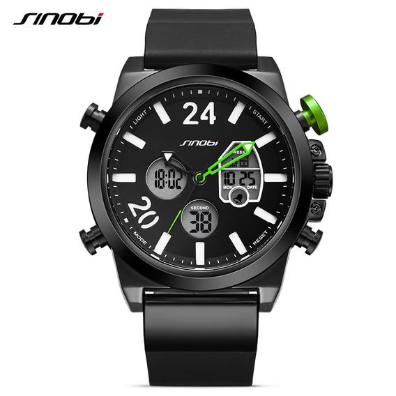 Sinobi Sport Quartz Watch 3atm Verde