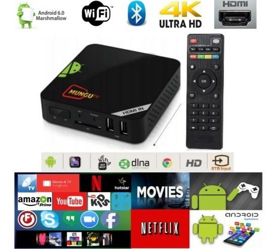 Conversor Tv Comum Para Transformar Em Smart Tv Mx9