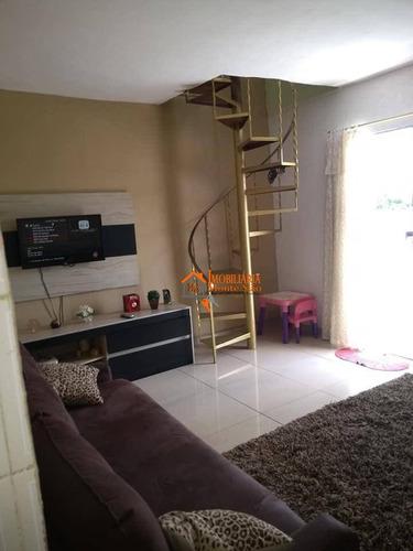 Imagem 1 de 12 de Sobrado Com 3 Dormitórios À Venda, 141 M² Por R$ 265.000,00 - Vila São Rafael - Guarulhos/sp - So0814