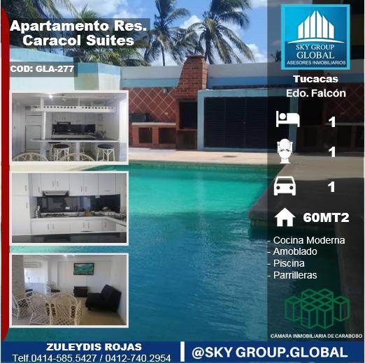 Sky Group Vende Apartamento En Tucacas, Caracol Suites