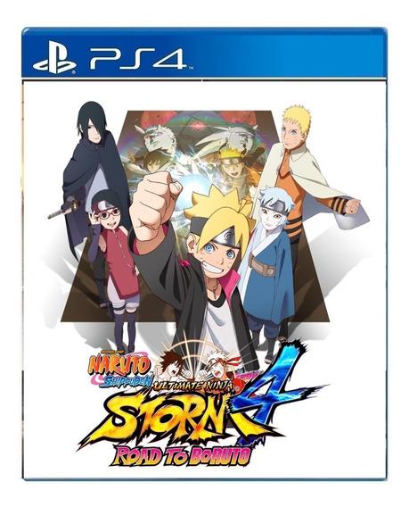 Naruto Shippuden Ninja Storm 4 Boruto Ps4 Digittal I