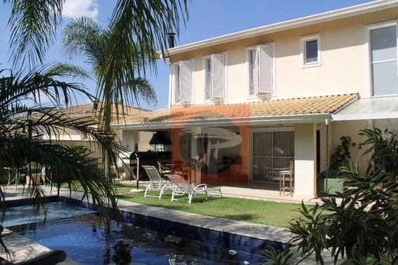 Casa - 375m² - 4 Suítes - Granja Viana - Cond. Orvalho. - Ca0350