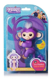 Fingerlings Macaquinho Baby Monkey Original - Varios Modelos