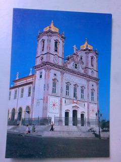 Cartão Postal Salvador Igreja Do Nosso Senhor Do Bonfim - Ba