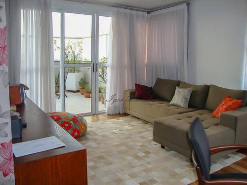 Imagem 1 de 15 de Maravilhosa Cobertura Com 4 Dormitórios Para Alugar Na Vila Mariana - Co1273