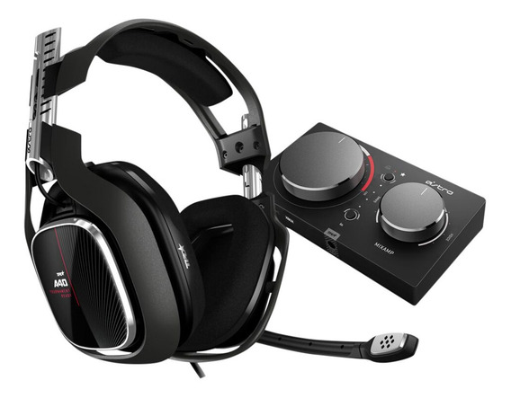 Auriculares Gamer 7.1 A40 Tr + Mixamp Pro Tr Pc Ps4 Astro