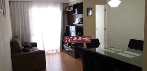 Apartamento Com 2 Dormitórios À Venda, 59 M² Por R$ 290.000 - Vila Milton - Guarulhos/sp - Ap3031