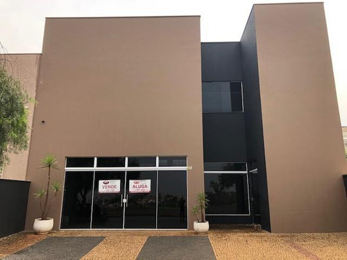 Salão À Venda, 300 M² Por R$ 1.150.000,00 - Terras De Santa Bárbara - Santa Bárbara D'oeste/sp - Sl0186