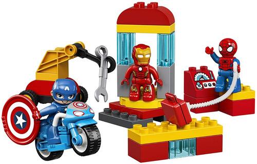 Lego Duplo Super Heroes Lab 10921 Marvel Vengers Superhéroes
