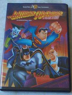Dvd Batman Superman Os Melhores Do Mundo