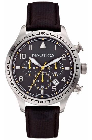 Relógio Nautica N16577g Unisex Aço Inox Lançamento