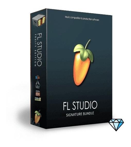 Fl Studio Signature Bundle 20.1 Com Caixa