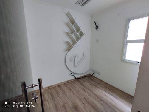 Imagem 1 de 12 de Sala Para Alugar, 32 M² Por R$ 900,00/mês - Vila Guiomar - Santo André/sp - Sa0787