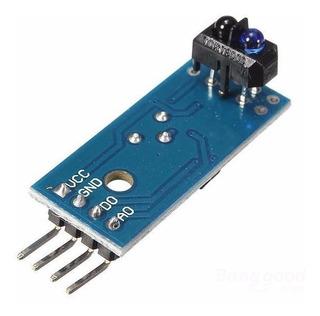 Sensor Optico Reflectivo Tcrt5000 Modulo Seguidor De Linea