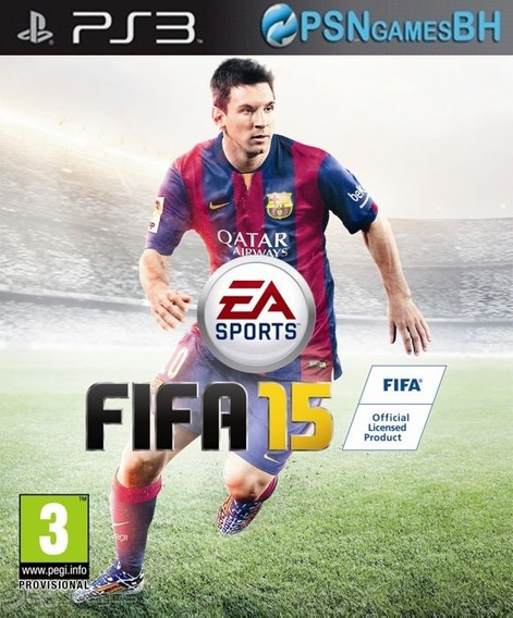 Fifa 15 Ps3 Mídia Original
