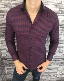 Camisa Social Masculina Slim Imperus