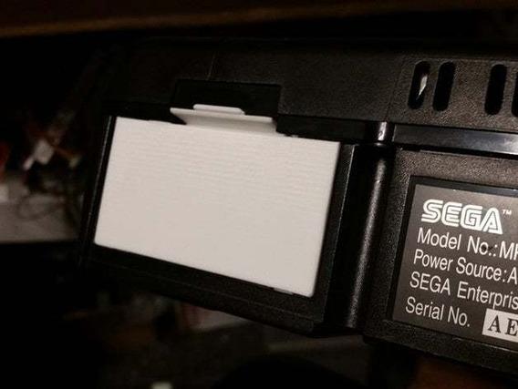 Tampa Traseira Bateria Sega Saturn Impressa 3d