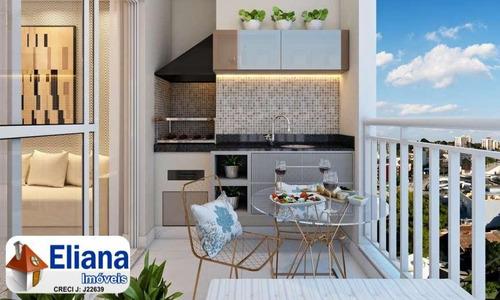 Apartamento Novo Com 65 M² Com 1 Ou 2 Vagas - B. Campestre - Ma5550