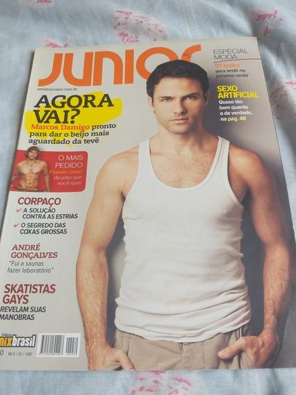 Revista Junior 30 Marcos Damigo Gay