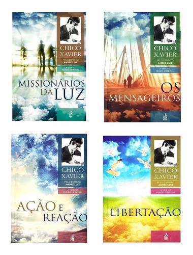 Coleção 04 , A Vida No Mundo Espiritual, Andre Luiz - Chico