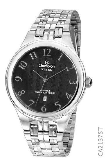 Relógio Champion Masculino Social Prateado Ca21375t