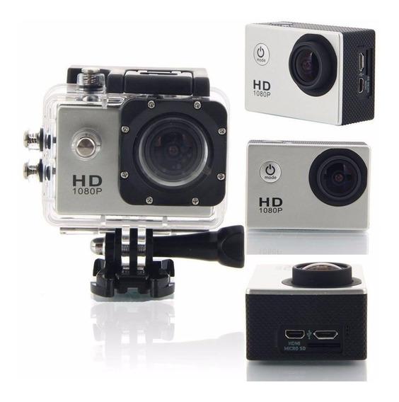 Câmera Esporte Full Hd Vídeos 1080p Fotos 12m Prova D