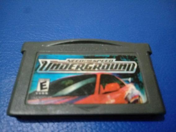 Jogo Game Boy Advance Need For Speed Underground