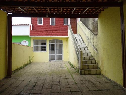 Sobrado 2 Em 1 No Melhor Bairro Residencial 1ªquadra - Itaóca, 250 M. Do Mar - So0013