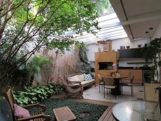 Ampla E Charmosa Casa Em Condomínio 4 Dormitórios No Campo Belo - 375-im70956