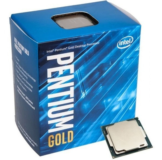 Pentium Gold G5400 Socket 1151 8 Geração Na Caixa Com Cooler