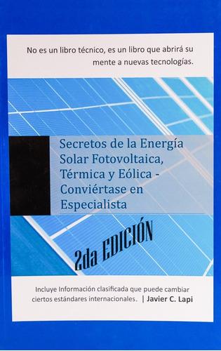 Imagen 1 de 2 de Libro Energía Renovable Solar Eólica Térmica P/ Instaladores