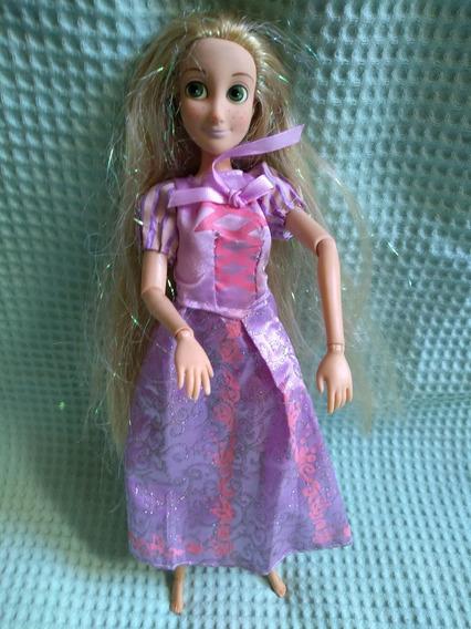 Boneca Barbie Rapunzel Disney Articulada