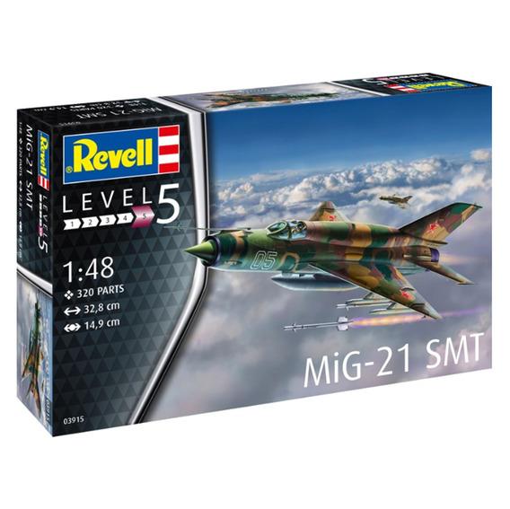 Kit De Montar Revell 1:48 Avião Mig 21 Smt