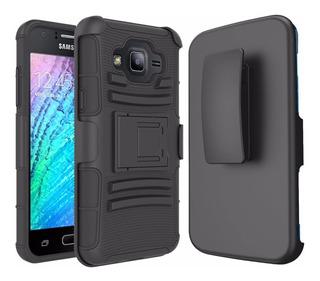 Funda Protector 3 En 1 Uso Rudo Resistente Galaxy A8 2015