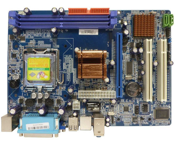 Tarjeta Madre Chipset Intel Socket 775 Ddr2 800 Mhz Pentium4